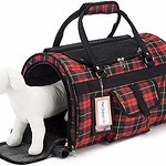 Prefer Pets Hideaway Duffel – Pet Travel Carrier – 17 L x 12 H x 10 D – Airline Approved Travel Carrier – Provides A Safe Secure Way to Travel – Helps Reduce Pet s Fear Anxiety thumbnail