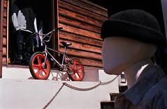 Pic0014 (exposurecontemplation.wordpress.com) Tags: uruharajuku tokyo japan film bike nikon em 50mm 12 ais fuji superia 400
