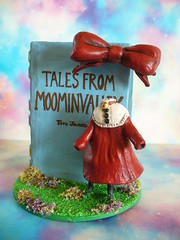 Ninny, the Invisible Child (redmermaidwerewolf) Tags: hand made handmade diorama moomin troll trolls the invisible child book childrens ninny tove jansson clay sculpt sculpted miniature doll