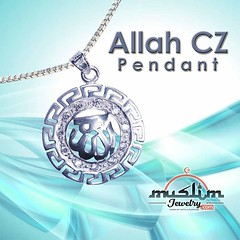 Sterling Silver Allah Necklace Pendant Decorated with CZ Studs with Box Chains (muslimjewelry.com) Tags: muslimjewelry dhulfiqar islamic swordpendant zulfikar islamicjewelry muslimproduct muslimstyle muslimmensfashion imamali ali muslim jewelry sterling silver pendant ring jawshan allah ayatulkursi ayatkursi necklace liontin islamicpendant arabicpendant arabic asmaul husna asmaulhusna asma chain basmallah basmallahpendant