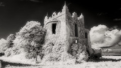 Ardfry House (Shot Yield Photography) Tags: ireland irish oranmore ardfry ardfryhouse house manor mansion home lostplace ruin exploration derelict dereliction decay abandoned building architecture historic creepy scary spooky eerie lost place haunted dark mystic mysterious atmosphere black white monochrome bw ir infra red infrared photography