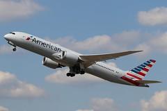 N838AA - LHR (B747GAL) Tags: american airlines boeing b7879 dreamliner lhr heathrow egll n838aa