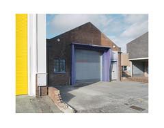 untitled (chrisinplymouth) Tags: door wall industrial stonehouse plymouth devon diagonal diagx desx urbio england millbay xg cw69x