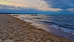 Poland Gdansk. (Z. Andrzejewski) Tags: poland andrzejewski gdansk landscape landscapephotography naturephotography sky water beach sunset jelitkowo baltic sea