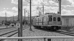 The G-Line in Arvada (BeerAndLoathing) Tags: spring rp arvada trains canon gline 169 canonrf24105mmf4lisusm commuterrail catenary train colorado canoneosrp rtd may 2019 usa railroad