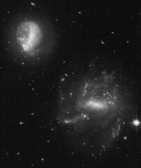 AM 2029-544 (geckzilla) Tags: hst hubble prop15446 15446 interaction tidal galaxies star formation bar dwarf spiral