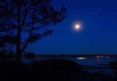 Full moon. Hvaler. Norway