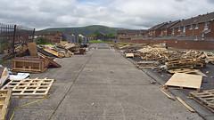 Combustible materials (nisudapi) Tags: 2019 ireland northernireland ulster belfast bonfire wood fuel eleventhnight battleoftheboyne