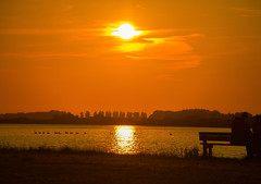 Middelplaten Veerse Meer (Omroep Zeeland) Tags: toeristen veersemeer zonsondergang natuurgebied genieten zeeland