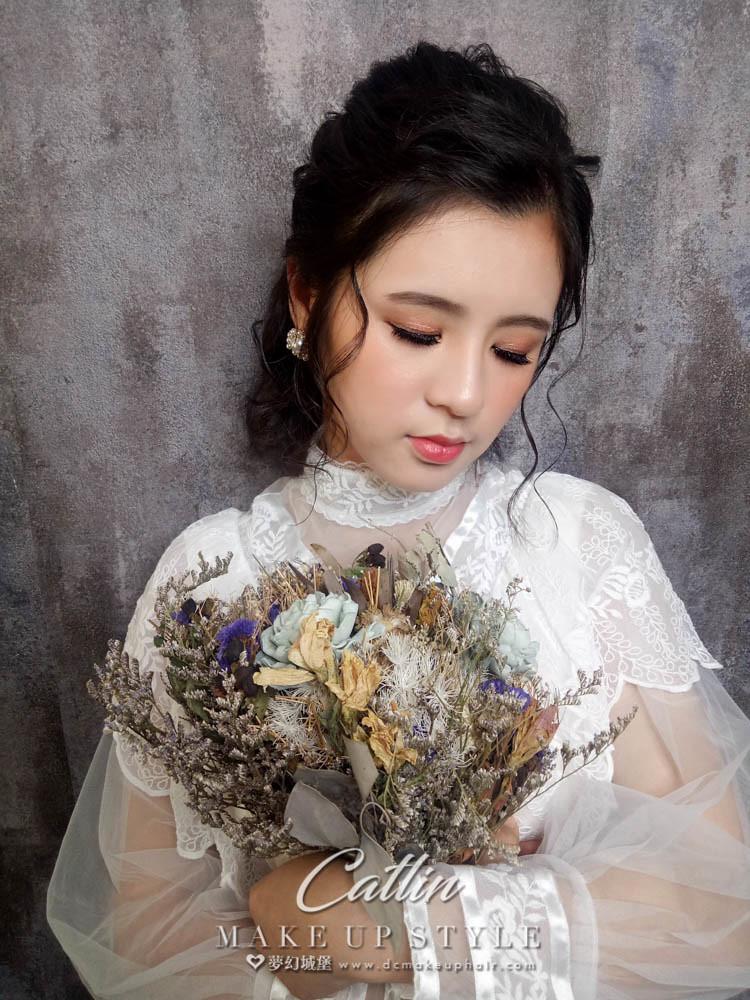 【新秘Catlin】新娘造型創作 / 復古娃娃造型