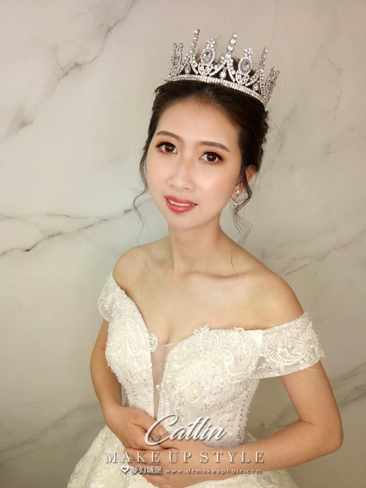 【新秘Catlin】新娘造型創作 /  皇冠公主造型