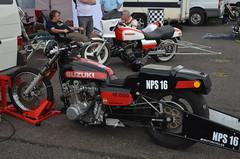 GS1000 (Sam Tait) Tags: dragstalgia santa pod raceway england 2019 nostalgia classic retro old car motorbike motorcycle sprint drag bike suzuki gs 1000 gs1000