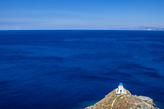 Seven Martyrs Church - Sifnos (Out Of The Map) Tags: greece grecia cyclades island islandlife sifnos beach playa plage sea mer blue church orthodoxe landscape outofthemap