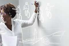 How could mobility and logistics careers in the transport sector change by 2050? (Ars Electronica) Tags: study austrianroadsafetyboard mobility logistics careers transportsector kfv arselectronica arselectronicafuturelab technology 2019 2050