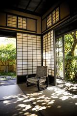 Resting corner (DanÅke Carlsson) Tags: japan japanese traditional house home corner tatami shoji chair interior