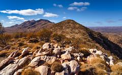 Mt Sonder view (NettyA) Tags: australia centralaustralia larapintatrail mtsonder mtsonderlookout mtsonderwalk nt northernterritory tjoritjiawestmacdonnellnationalpark worldexpeditions bushwalk bushwalking hike