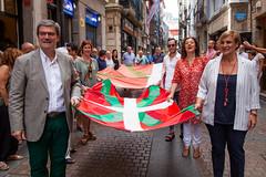 Ikurriñaren 125 urteurrena Bilbao -0005 (EAJ-PNV) Tags: eajpnv euzkoalderdijeltzalea euzkadi partidonacionalistavasco basquecountry basquenacionalparty basque ikurriña