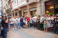 Ikurriñaren 125 urteurrena Bilbao -0003 (EAJ-PNV) Tags: eajpnv euzkoalderdijeltzalea euzkadi partidonacionalistavasco basquecountry basquenacionalparty basque ikurriña