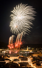 14 Juillet 2019 (Alain@BlueSunset) Tags: fireworks feudartifice ciel sky night nuit city ville tainlhermitage tournonsurrhone lightslumières spectacle
