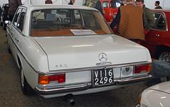 Mercedes Benz 220 (1968) // VI-162496 (baffalie) Tags: auto voiture ancienne vintage classic old car coche retro expo italia sport automobile racing motor show collection club course race circuit italie padoue fiera