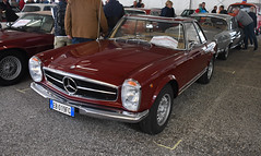 Mercedes Benz 250 SL pagode (1967) // EB-019 FG (baffalie) Tags: auto voiture ancienne vintage classic old car coche retro expo italia sport automobile racing motor show collection club course race circuit italie padoue fiera