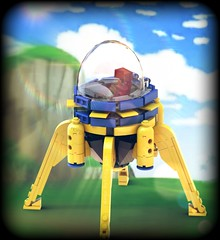 LEGO - Mirai Trunk's Time Machine (SergioBatista) Tags: lego dragonballz dbz mirai timemachine anime manga trunks cell cyborgs android legomoc moc minifigscale