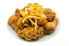 TastyVn on Youtube (tastyvn) Tags: american background chicken chips delicious dinner fast food french fresh fried fries isolated leg lunch meal meat menu potato restaurant roasted snack turkey white wings