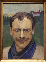 Harald Sohlberg, Selbstbildnis - Self-portrait (HEN-Magonza) Tags: museumwiesbaden haraldsohlberg wiesbaden hessen hesse deutschland germany selbstbildnis selfportrait