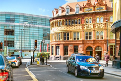 John Lewis and Church House (Bob Edwards Photography - Picture Liverpool) Tags: churchhouse johnlewis hanover paradise dukestreet merseyside pictureliverpool bobedwardsphotography city buildings architecture oldandnew vehicles car road