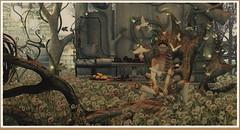 minamikaze190719-1 (minamikaze2010) Tags: sintiklia ebento hair zibska cureless epiphany gacha gown glove lepoppycock pause largetree andika littlebranch tree trompeloeil {anc} ariskea con chair dove lemon rose garden fantasy fairytale dream delusion decoration