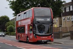 Stagecoach East London Alexander Dennis Enviro400SH MMC (11081 - YX19 OMH) 248 (London Bus Breh) Tags: stagecoach stagecoachlondon stagecoacheastlondon eastlondon alexander dennis alexanderdennis alexanderdennislimited alexanderdennisenviro400mmc enviro400mmc e400mmc e400 mmc smarthybrid hybrid hybridbus hybridtechnology 11081 yx19omh 19reg london buses londonbuses bus londonbusesroute248 route248 upminster halllane tfl transportforlondon