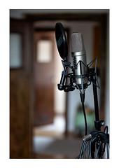 to catch music (Armin Fuchs) Tags: arminfuchs lavillelaplusdangereuse microphone micro doors light music musicalinstrument windows