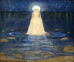 Harald Sohlberg, Meerjungfrau - Mermaid (HEN-Magonza) Tags: museumwiesbaden haraldsohlberg wiesbaden hessen hesse deutschland germany meerjungfrau mermaid