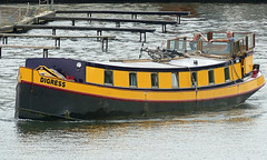 They DIGRESS (Charos Pix) Tags: barge thames digress