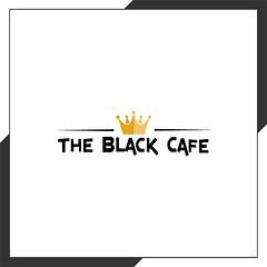 The Black Cafe (bretallen007) Tags: cafe restaurant kitchen black logo logodesign logodesigner crown professionallogo boldlogo