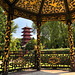 Chinese Pavilion and Japanese Tower in Brussels