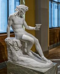 Bacchus (Gösta Knochenhauer) Tags: 2019 may nationalmuseum national museum art konst kunst stockholm sverige sweden schweden suède svezia suecia panasonic lumix fz1000 dmcfz1000 naked nude nackt p9180257nik p9180257 nik bacchus marble god