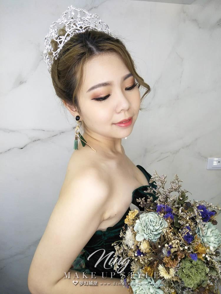 【新秘羽寧】新娘造型創作 / 奢華公主造型
