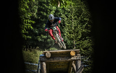 8 trees (phunkt.com™) Tags: uni world cup dh downhill down hill les gets france phunkt phunktcom keith valentine