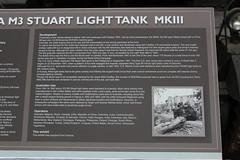 M3 Stuart III_01 (Mckenna35) Tags: australianarmorartillerymuseum armor tank vehicle usarmy wwii stuart