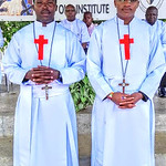 Francis Ndichu and Camillus Mbevi  newly professed