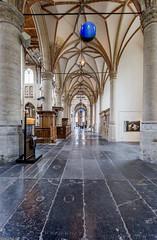Sint Laurenskerk -  Alkmaar (Emil de Jong - Kijklens) Tags: kerk church alkmaar kijklens perspectief perspective interieur interior architectuur architecture middeleeuwen middeleeuws