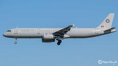 Belgian Air Force, Airbus A321-231, CS-TRJ, 1004, July 17, 2019 (mhoejte) Tags: copenhagenairport ekch cph belgianairforce cstrj