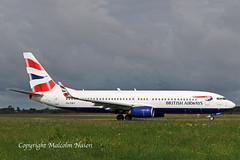 B737-86N ZS-ZWY ex A6-FDT COMAIR\BRITISH AIRWAYS (shanairpic) Tags: jetairliner passengerjet b737 boeing737 shannon iac eirtech flydubai comair britishairways a6fdt zszwy