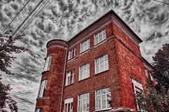 Old building (Staropramen1969) Tags: building old architecture sky clouds gebäude alt architektur himmel wolken bâtiment vieux ciel nuages