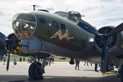 Boeing B-17G Flying Fortress (Nigel Musgrove-2.5 million views-thank you!) Tags: boeing b17g flying fortress sallyb imperial war museum duxford air festival iwm cambridgeshire england uk 26 may 2019 bomber american ww2 wwii