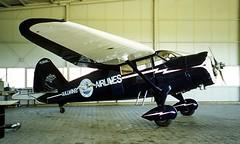 N18442   (NC18442) Stinson SR-9C Reliant [5354] Hartenholm~D 17/05/1998 (raybarber2) Tags: 5354 abpic airportdata cn5354 edhm filed flickr n18442 nc18442 oldtimer planebase raybarber single usacivil