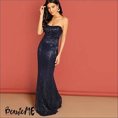 Women's Strapless Dresses (beautemeonline) Tags: women off shoulder tops
