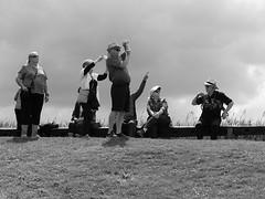 Visitors (GiulioBig) Tags: people men women stile blackwhite elshout southholland netherlands