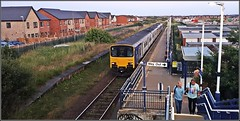 Finally (Colin Partington) Tags: 20190713 150140 northern blackpool 2s64 class150 northernrail squiresgate lancashire